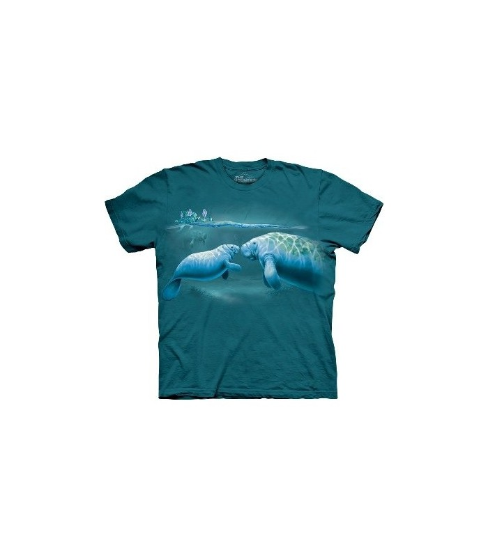 T-Shirt Lamantin par The Mountain