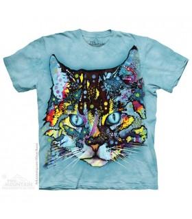 Hypno Cat - Pet T Shirt The Mountain