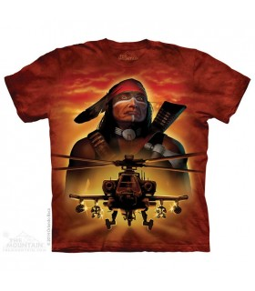 Guerrier Apache - T-shirt Hélicoptère The Mountain