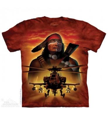 Guerrier Apache - T-shirt Hélicoptère The Mountain