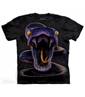 Snake Strike - Reptile T Shirt The Mountain