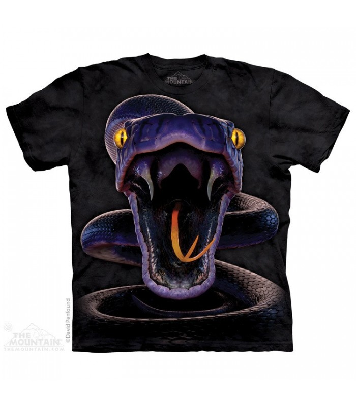 Snake Strike - Reptile T Shirt The Mountain