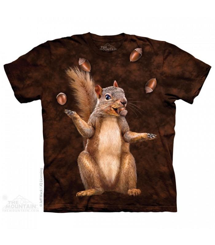 Nut Juggler - Squirrel T Shirt The Mountain