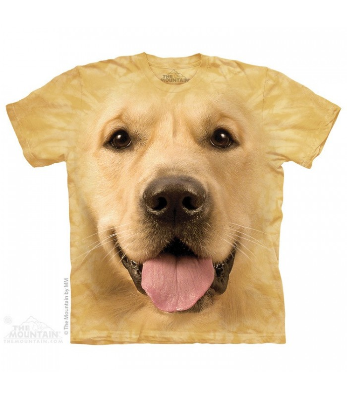 T-shirt Golden The Mountain