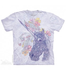 Unicornicopia - T-shirt Licorne The Mountain