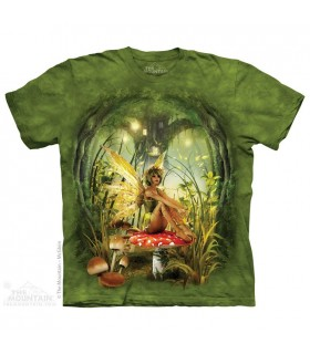 Toadstool Fairy - Fantasy T Shirt The Mountain