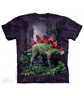 Stegosaurus - Dinosaur T Shirt The Mountain