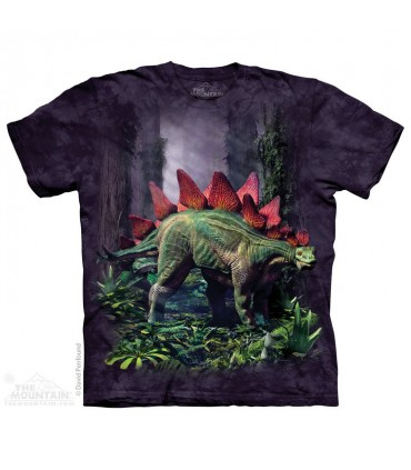 Stegosaurus - Dinosaur T Shirt The Mountain