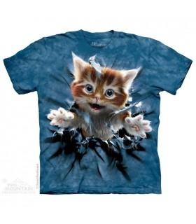 Ginger Kitten Breakthrough - Pet T Shirt The Mountain