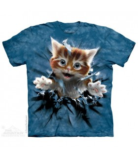 T-shirt Chaton Bondissant The Mountain