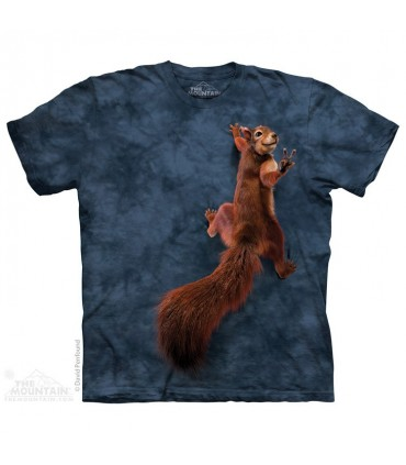 Peace Squirrel - Animal T Shirt The Mountain