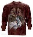 Trouver 9 Loups - T-shirt Manches Longues The Mountain