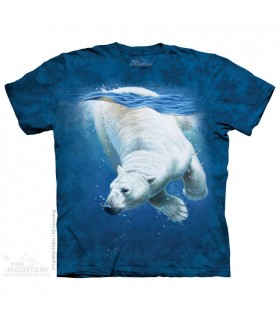 Polar Bear Dive - Aquatics T Shirt The Mountain