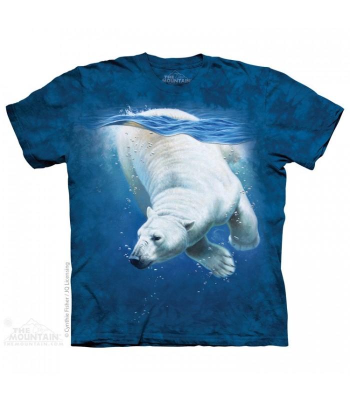 Ours Polaire - T-shirt Aquatique The Mountain