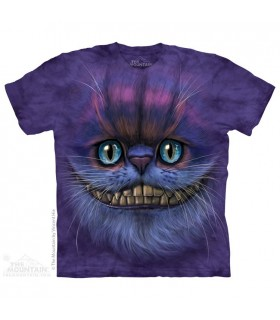 Chat de Cheshire - T-shirt Fantasy The Mountain