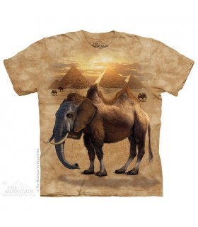 Camelephant - T-shirt Animaux Mixés The Mountain