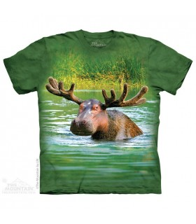 Hippopotamoose - T-shirt Animaux Mixés The Mountain