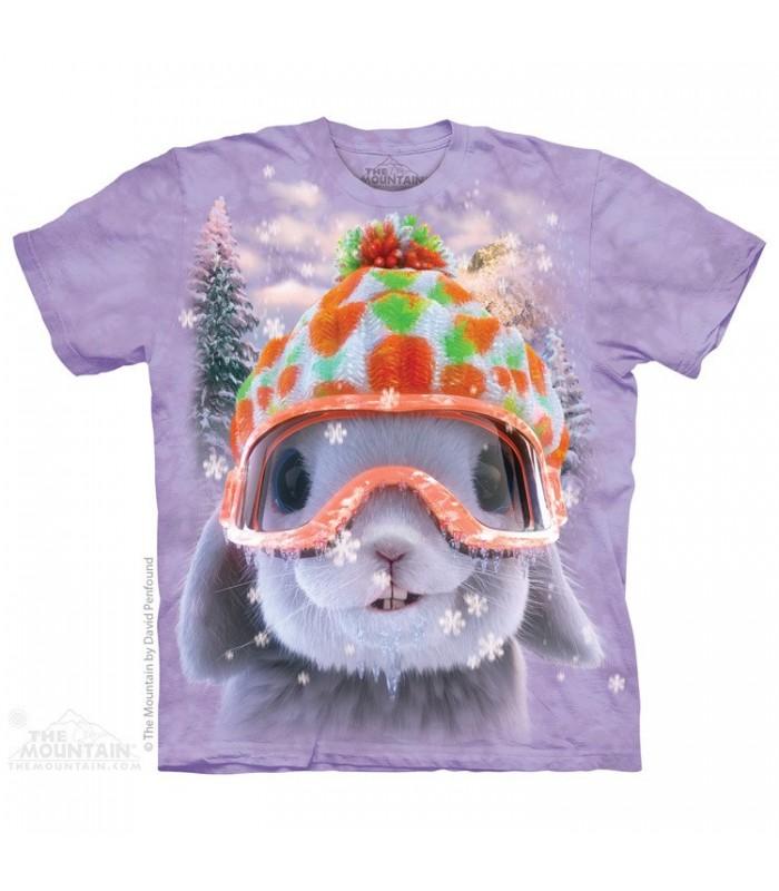 Snow Bunny - Rabbit T Shirt The Mountain