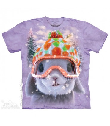 T-shirt Lapin à la Neige The Mountain