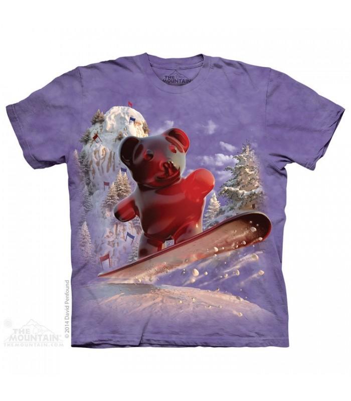Snowboard Bear - Food T Shirt The Mountain