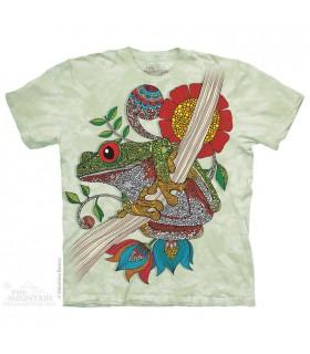 Phileus Frog - Amphibian T Shirt The Mountain
