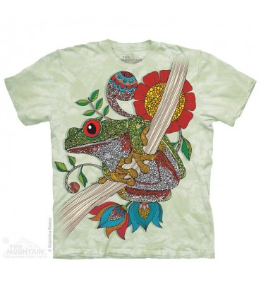 Phileus Frog - Amphibian T Shirt The Mountain