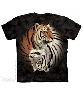 T-shirt Tigres Yin Yang The Mountain