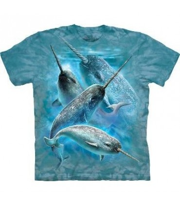 Narwhals - Aquatics T Shirt by the Mountain