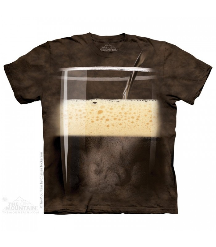 Stout Beer - Drink T Shirt The Mountain