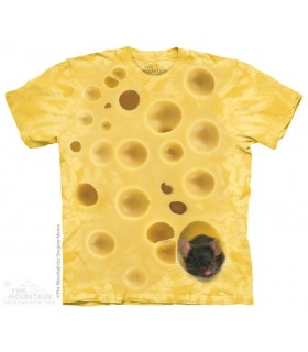 Swiss Cheese Mouse - Food T Shirt The Mountain