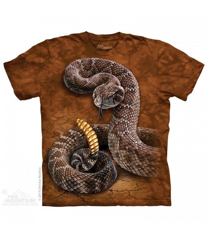 Rattlesnake - Reptile T Shirt The Mountain