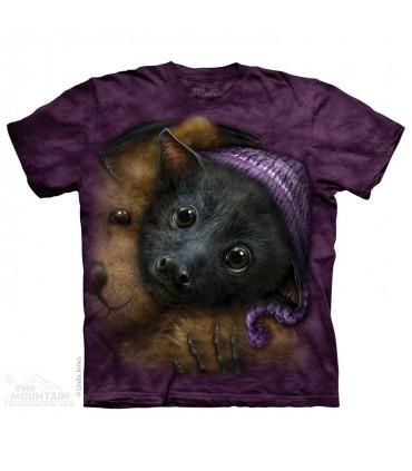 Baby Bat Bedtime - Animal T Shirt The Mountain