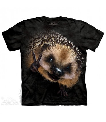 T-shirt Hérisson de la Paix The Mountain