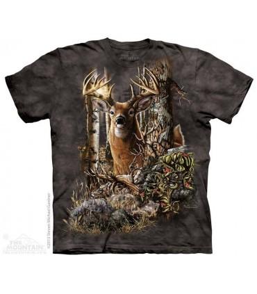 Find 9 Deer - Hidden Images T Shirt The Mountain