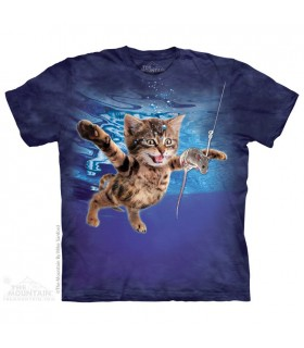 Chasse sous l'eau - T-shirt Chat The Mountain