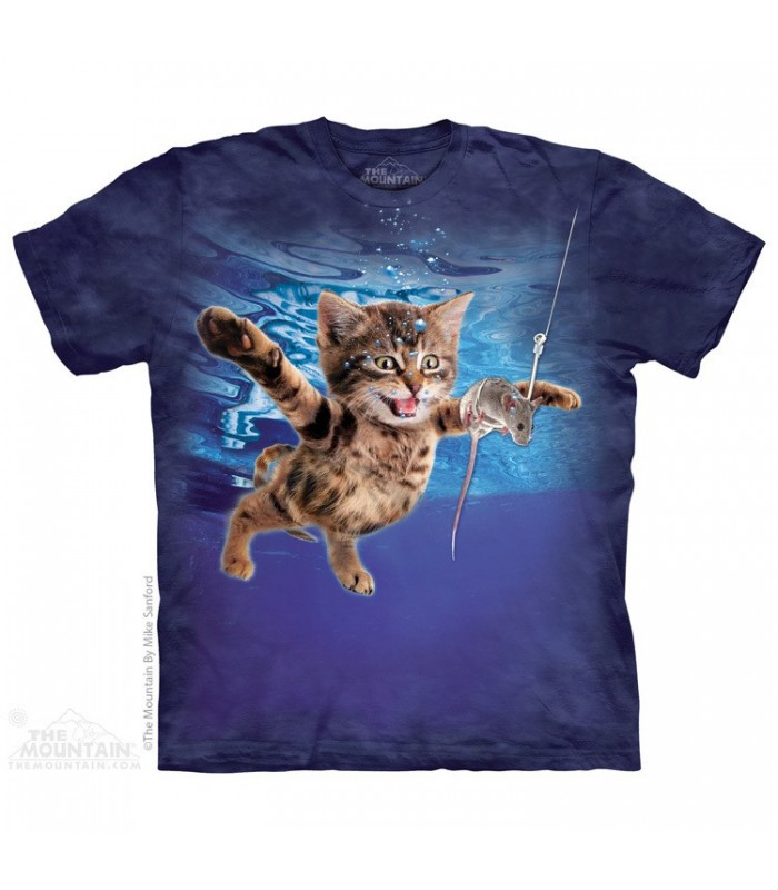 Chasse sous l'eau - T-shirt Chat The Mountain