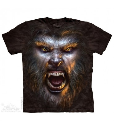 Werewolf Face - Monster T Shirt The Mountain