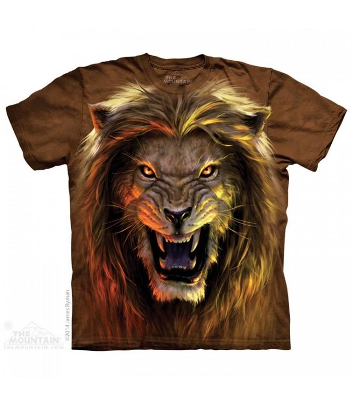 Beast - Lion T Shirt The Mountain
