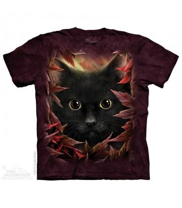 Autumn Cat - Pet T Shirt The Mountain