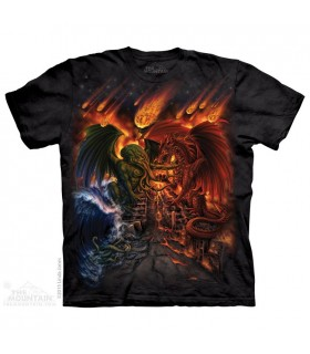 Titans Apocalypse - Dragon T Shirt The Mountain