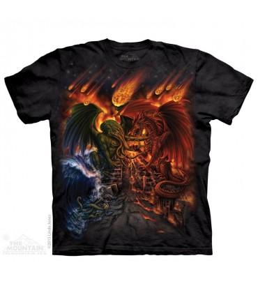 Titans Apocalypse - Dragon T Shirt The Mountain