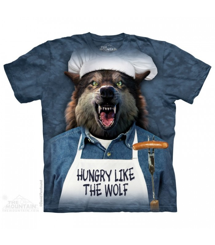 Hungry Like The Wolf - Animal T Shirt The Mountain