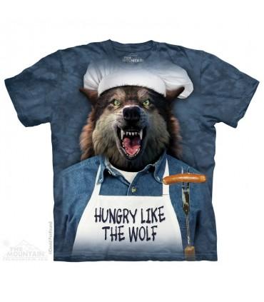 Affamé comme un Loup - T-shirt humoristique The Mountain
