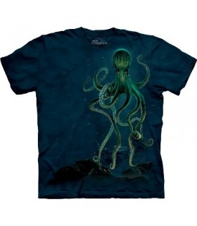 Octopus - Aquatic Shirt The Mountain