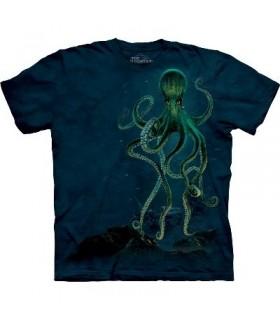 T-Shirt Pieuvre par The Mountain
