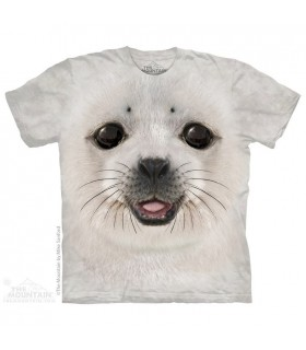 Big Face Baby Seal - Aquatic T Shirt The Mountain
