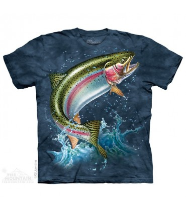 Rainbow Trout - Fish T Shirt The Mountain