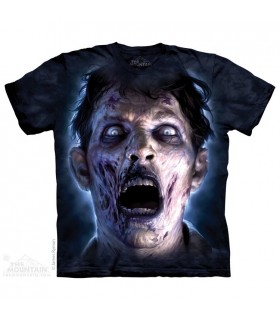 T-shirt Zombie Eclairé par la Lune The Mountain