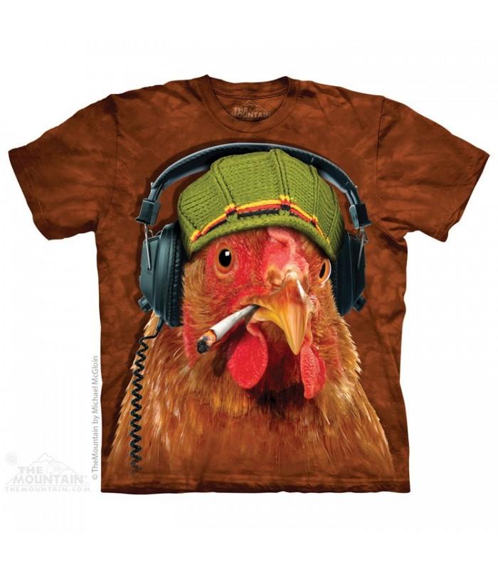Poulet Frit - T-shirt Oiseau The Mountain