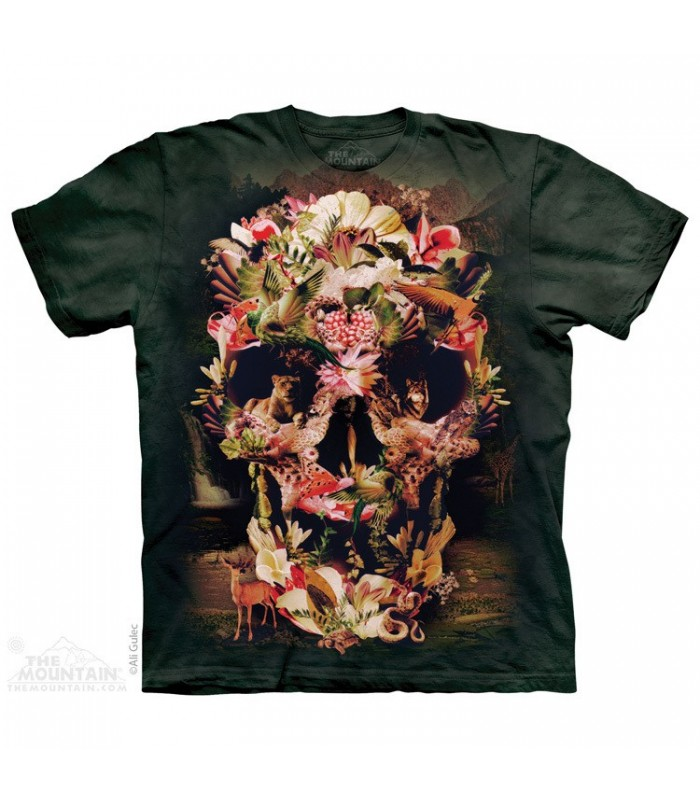 Jungle Skull - Fantasy T Shirt The Mountain